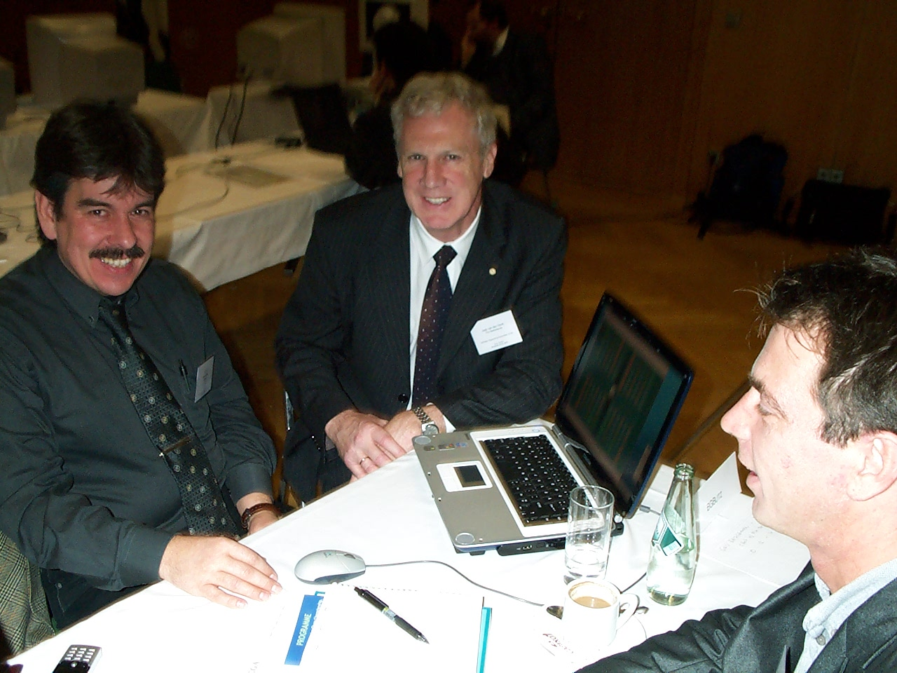 Achim, Frank and Prof. v.d. Herik
